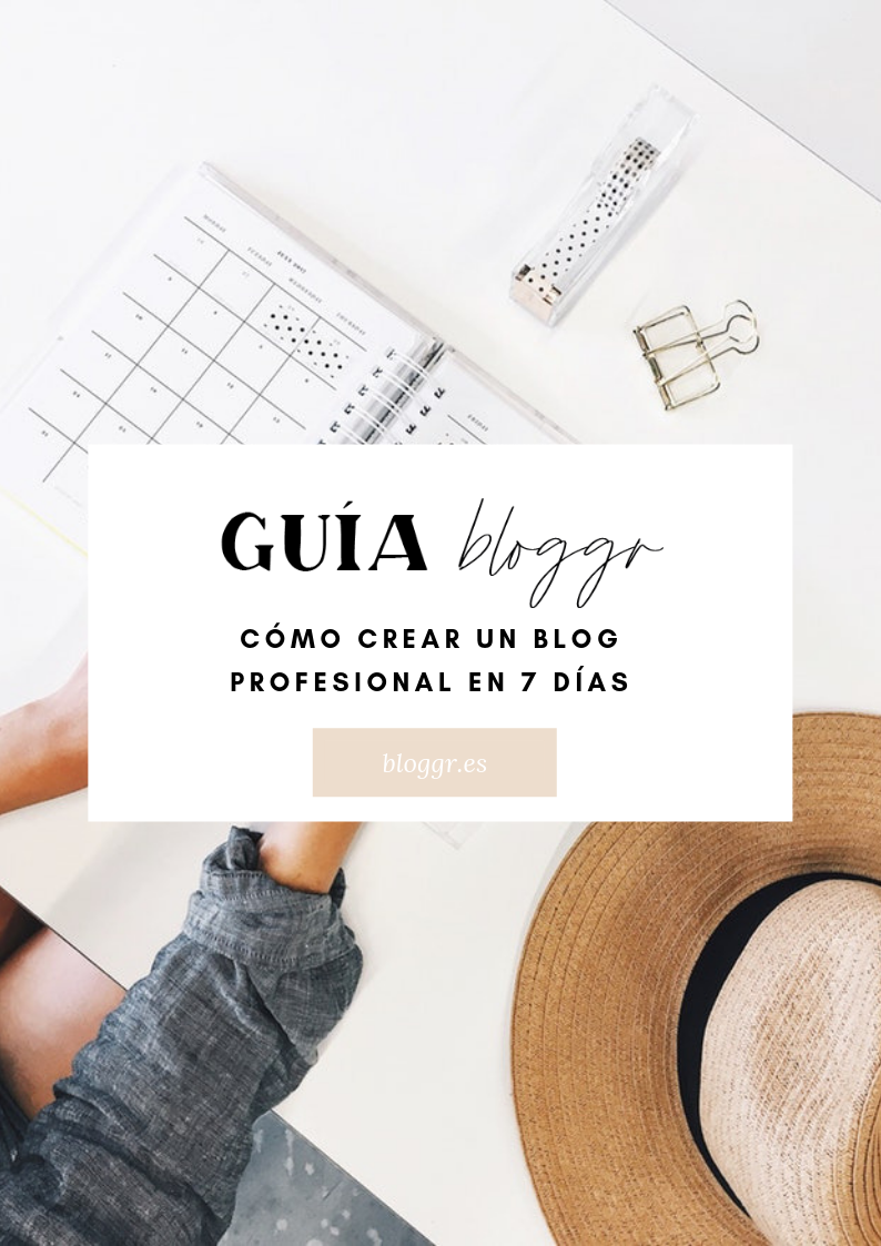Cómo crear un blog, Guía para bloggers