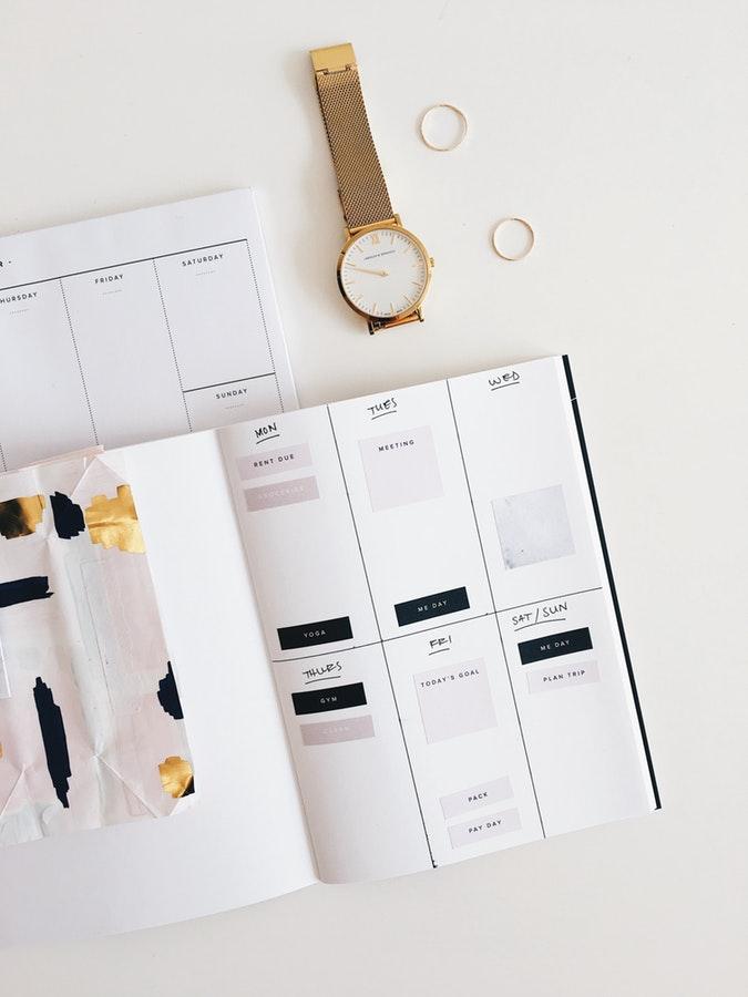 4 tips para organizarte y ser constante con tu blog