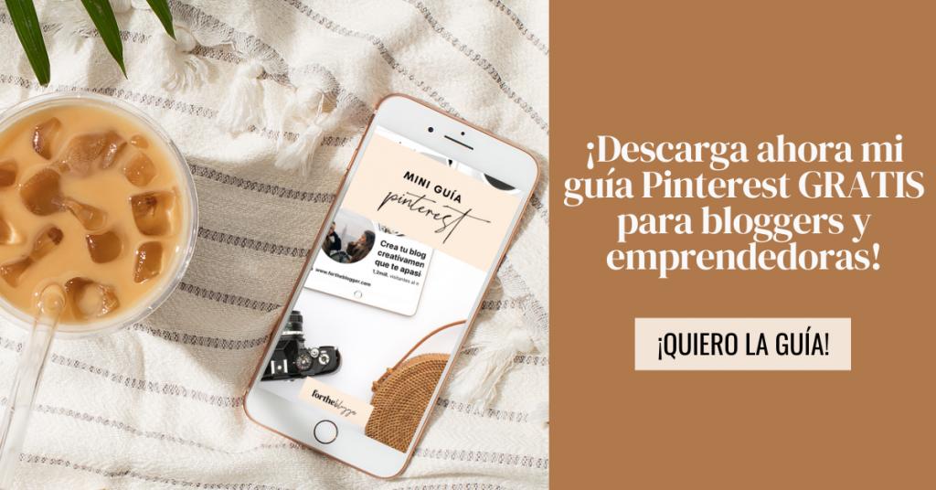 Pinterest para emprendedores y bloggers