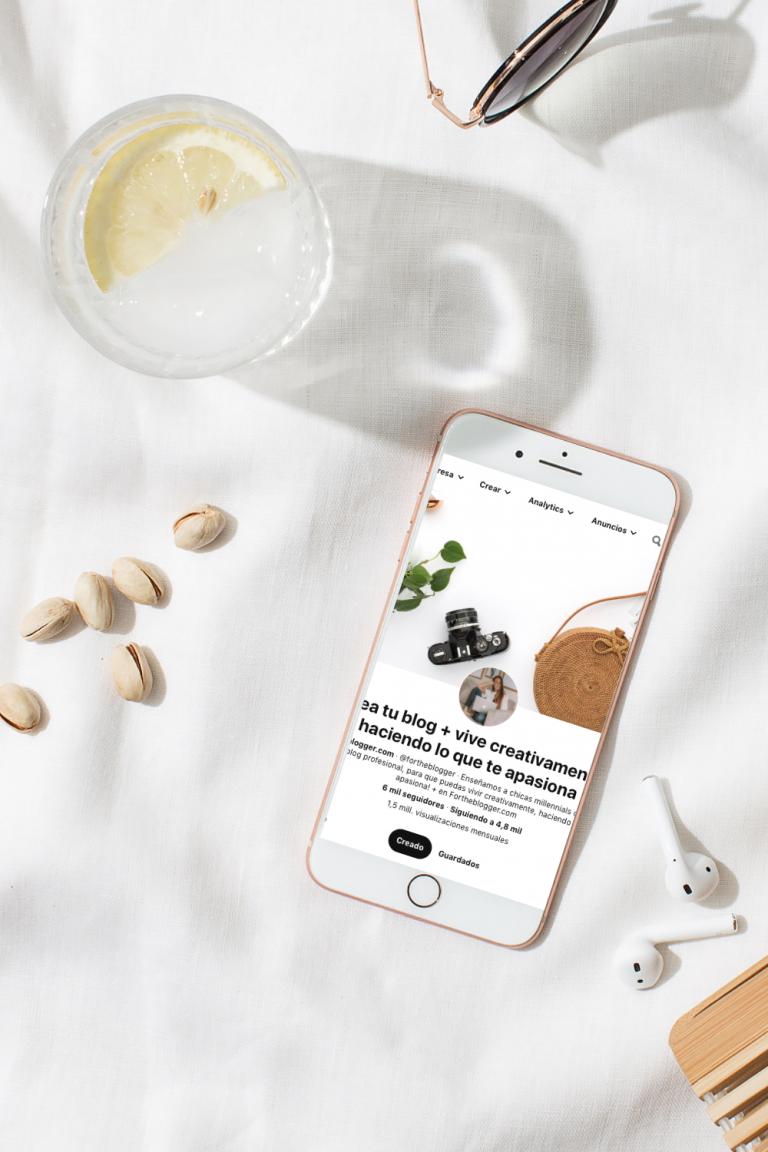 Cómo crear una cuenta business en Pinterest para tu blog o negocio digital
